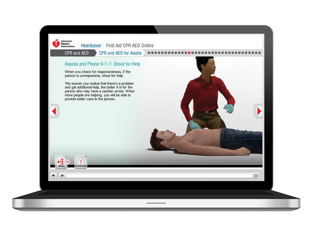 hs cpr aed fa online